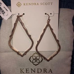 Kendra Scott Rose Gold Sophee earrings